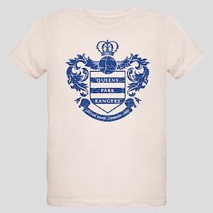 Queens Park Rangers Crest Organic Kids T-Shirt