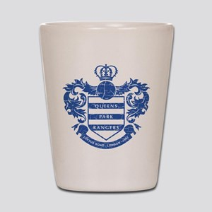 Queens Park Rangers Crest Shot Glass