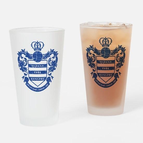 Queens Park Rangers Crest Drinking Glass