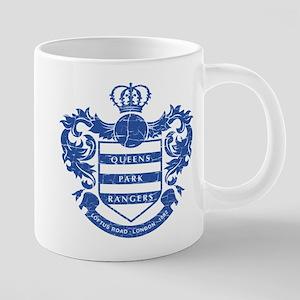 Queens Park Rangers Crest 20 oz Ceramic Mega Mug