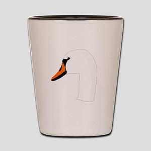 Swan Head Shot Glass
