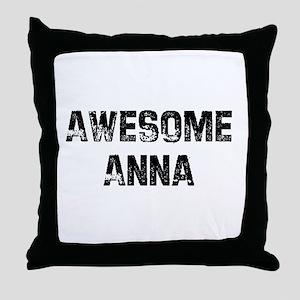 Awesome Anna Throw Pillow