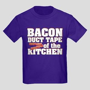Bacon - Duct Tape Kids Dark T-Shirt