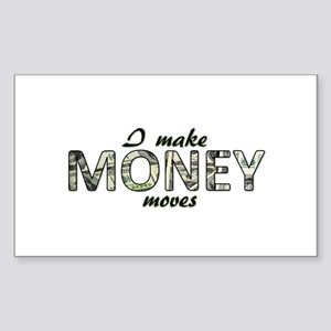 Money Moves Sticker