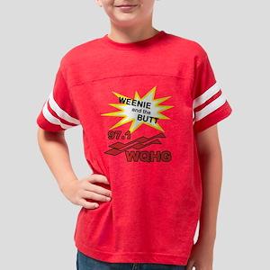 back-buttslammed Youth Football Shirt