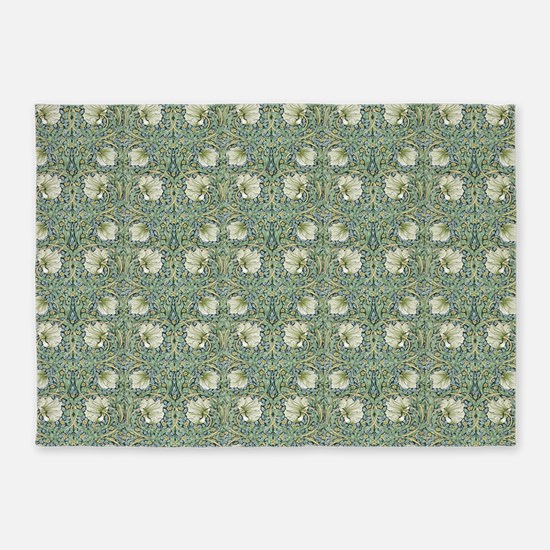 Morris Pimpernel with Repeats 5'x7'Area Rug