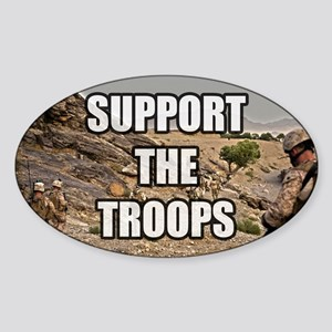 Support The Troops - Army Sticker