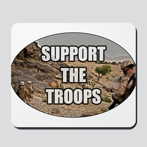 Support The Troops - Army Mousepad