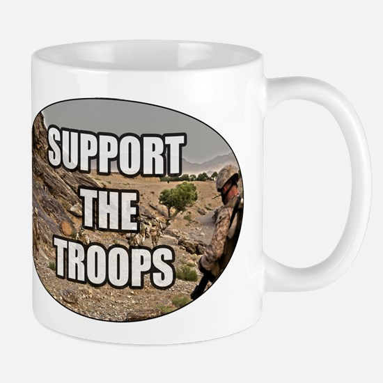 Support The Troops - Army Mug