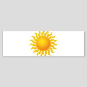Sun - Sunny - Summer Bumper Sticker