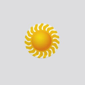 Sun - Sunny - Summer Mini Button