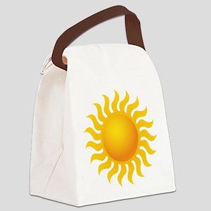 Sun - Sunny - Summer Canvas Lunch Bag