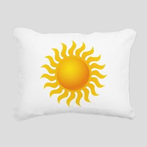 Sun - Sunny - Summer Rectangular Canvas Pillow
