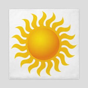 Sun - Sunny - Summer Queen Duvet