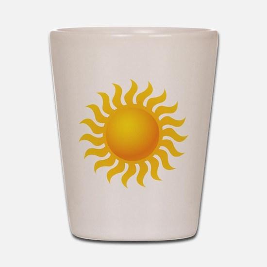 Sun - Sunny - Summer Shot Glass