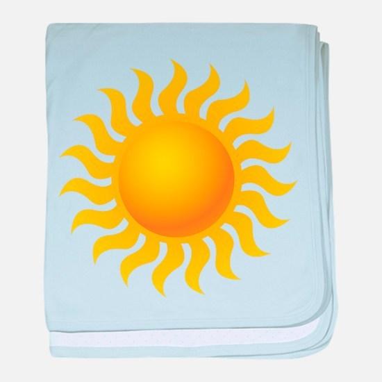 Sun - Sunny - Summer baby blanket