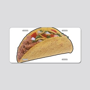 Taco - Food - Mexican Aluminum License Plate