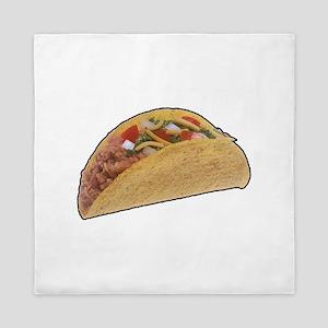 Taco - Food - Mexican Queen Duvet