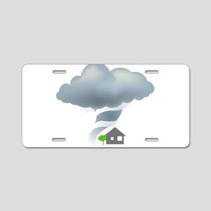 Tornado - Weather - Storm Aluminum License Plate