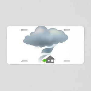 Tornado - Weather - Storm Aluminum License Plate