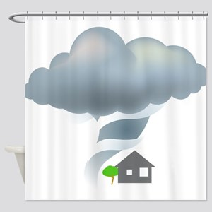 Tornado - Weather - Storm Shower Curtain