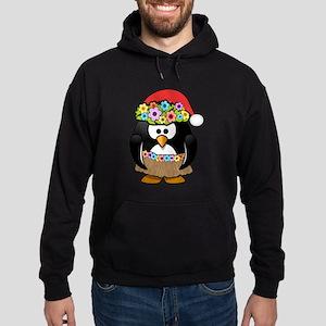 Hawaiian Christmas Penguin Hoody