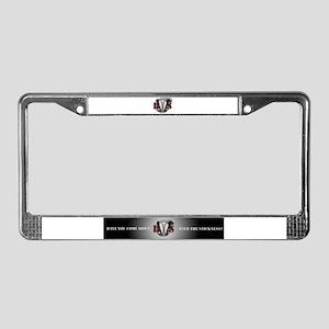 bws huge License Plate Frame