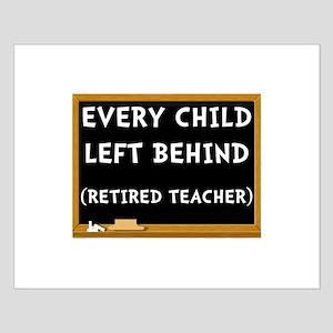 Retired Teacher Posters