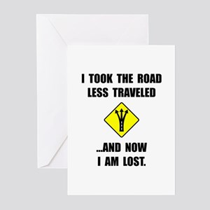 Road Less Traveled Greeting Cards (Pk of 20)