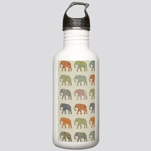 Elephant Colorful Repe Stainless Water Bottle 1.0L
