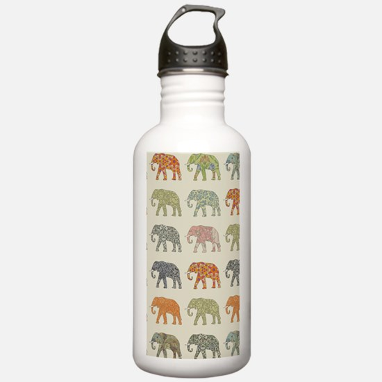 Elephant Colorful Repe Water Bottle