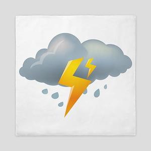 Storm - Weather - Lightning Queen Duvet