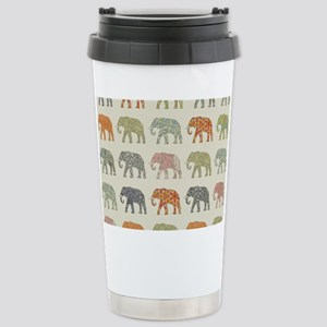 Elephant Colorful Repea Stainless Steel Travel Mug