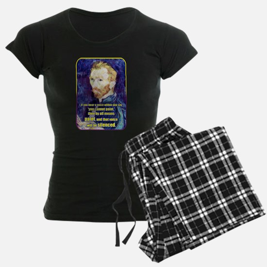 Vincent van Gogh - Art - Quote Pajamas