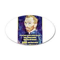 Vincent van Gogh - Art - Quote Wall Decal