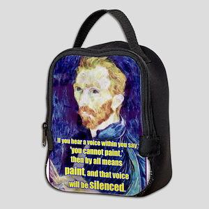 Vincent van Gogh - Art - Quote Neoprene Lunch Bag