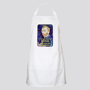 Vincent van Gogh - Art - Quote Apron