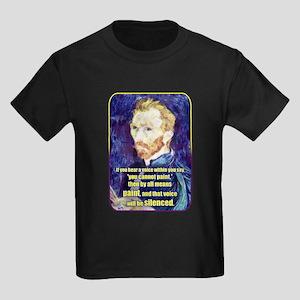 Vincent van Gogh - Art - Quote T-Shirt