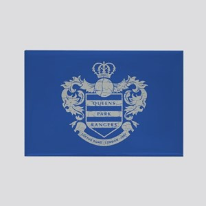 Queens Park Rangers Crest Rectangle Magnet