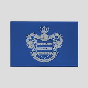 Queens Park Rangers Crest Rectangle Magnet