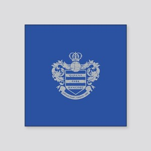 "Queens Park Rangers Crest Square Sticker 3"" x 3"""
