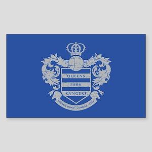 Queens Park Rangers Crest Sticker (Rectangle)