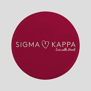 Sigma Kappa Heart Button
