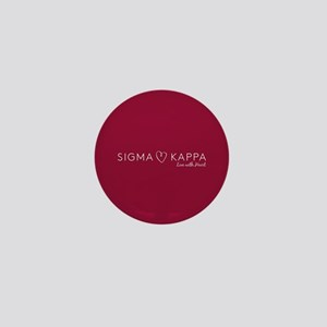 Sigma Kappa Heart Mini Button