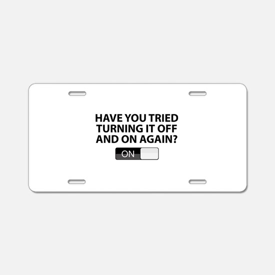 Have You Tried Turning It Off And On Again? Alumin