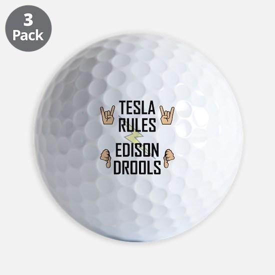 Tesla Rules Golf Ball