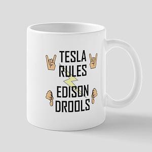 Tesla Rules Mug