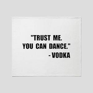 Vodka Dance Throw Blanket