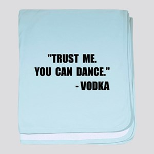 Vodka Dance baby blanket