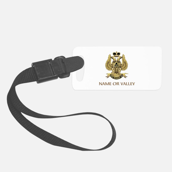 Scottish Rite 33rd Luggage Tag